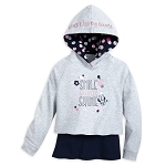 Disney Girls Hoodie and Tank Top - Minnie Mouse - Smile Sparkle Shine