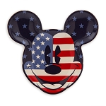 Disney Trinket Tray - Mickey Mouse Americana - Red White and Blue