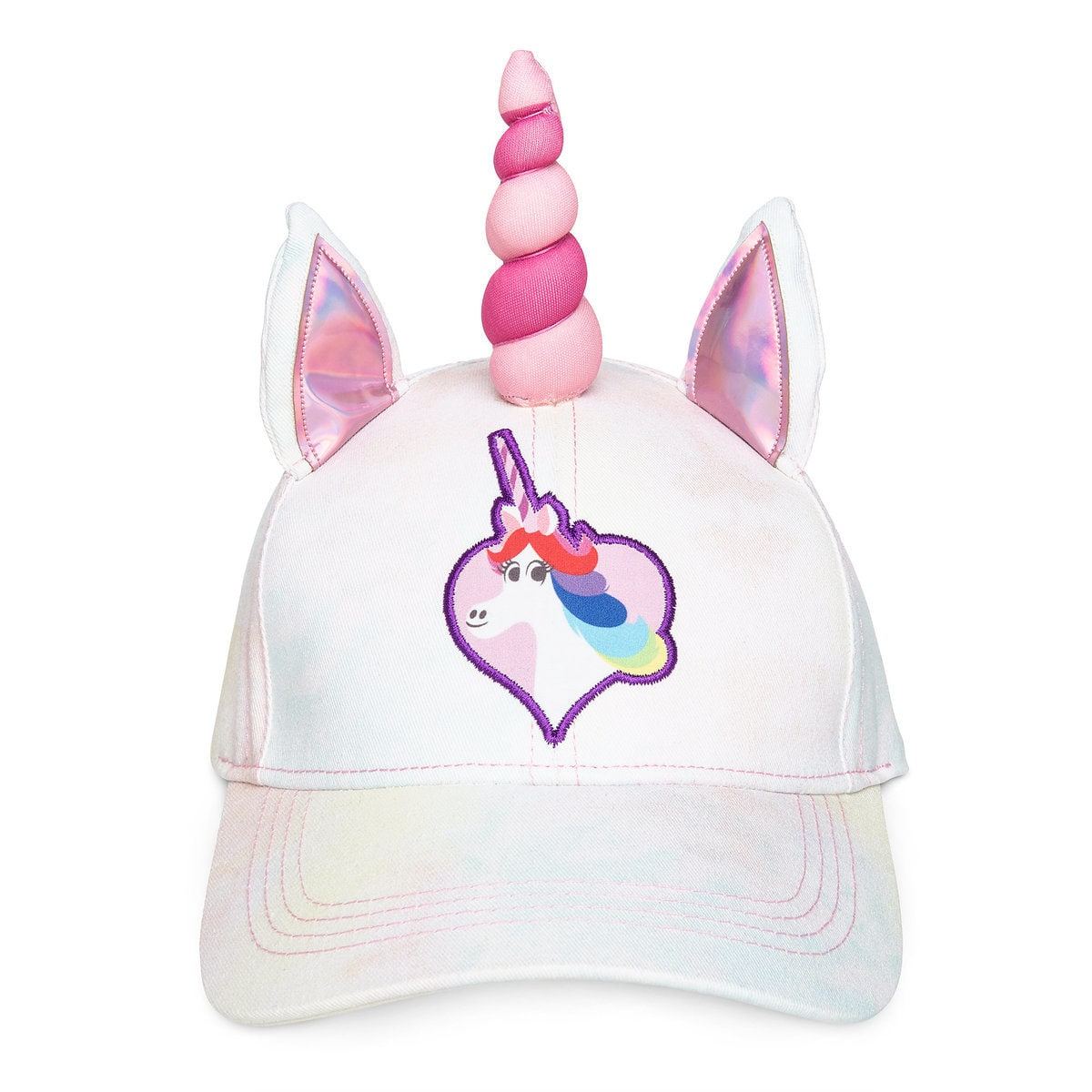 Disney Hat - Baseball Cap - Rainbow Unicorn - Inside Out