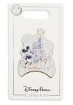Disney Castle Pin - Mickey Mouse and Cinderella Castle