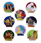 Disney Mystery Pin Set - BFFs Collection - 2 Random