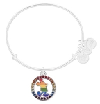 Disney Alex & Ani Bracelet - Rainbow Mickey Mouse - Silver