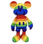 Disney Plush - Rainbow Mickey Mouse - 13