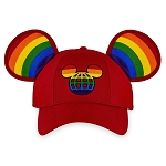 Disney Hat - Baseball Cap - Rainbow Mickey Mouse Ears