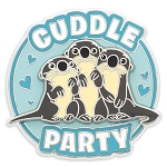 Disney Finding Dory Pin - Otter Cuddle Party