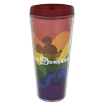 Disney Travel Tumbler - Rainbow Mickey Mouse