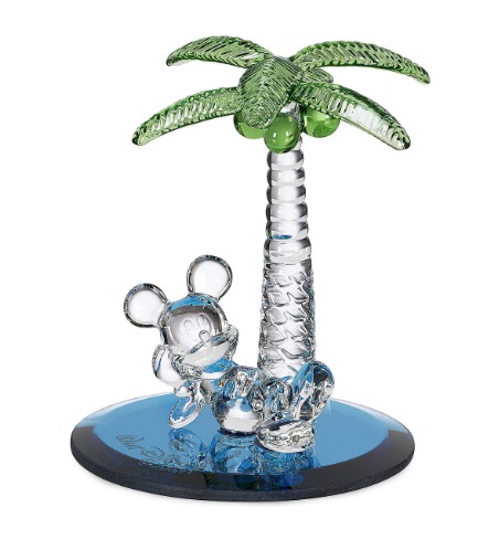Disney Arribas Figurine - Mickey Mouse Palm Tree