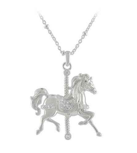 Disney Rebecca Hook Necklace - King Arthur Carrousel Horse