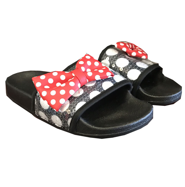 Disney Sandals for Women - Minnie Mouse Bow Sequin
