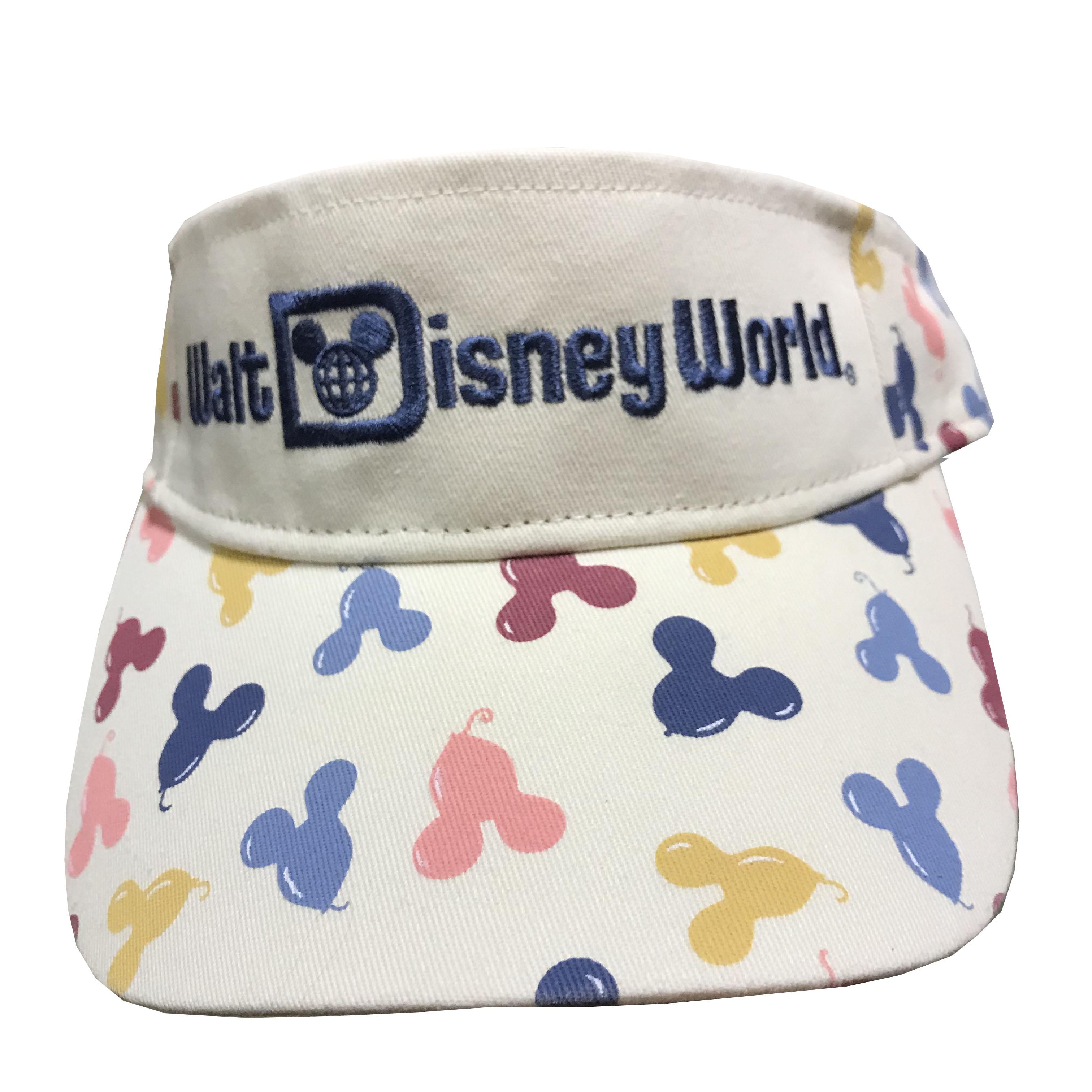 2d165a82c Disney Sun Visor Hat - Mickey Mouse Balloons - Walt Disney World