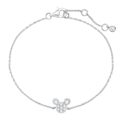 Disney Crislu Bracelet for Kids - Mickey Mouse Icon - Color Choice