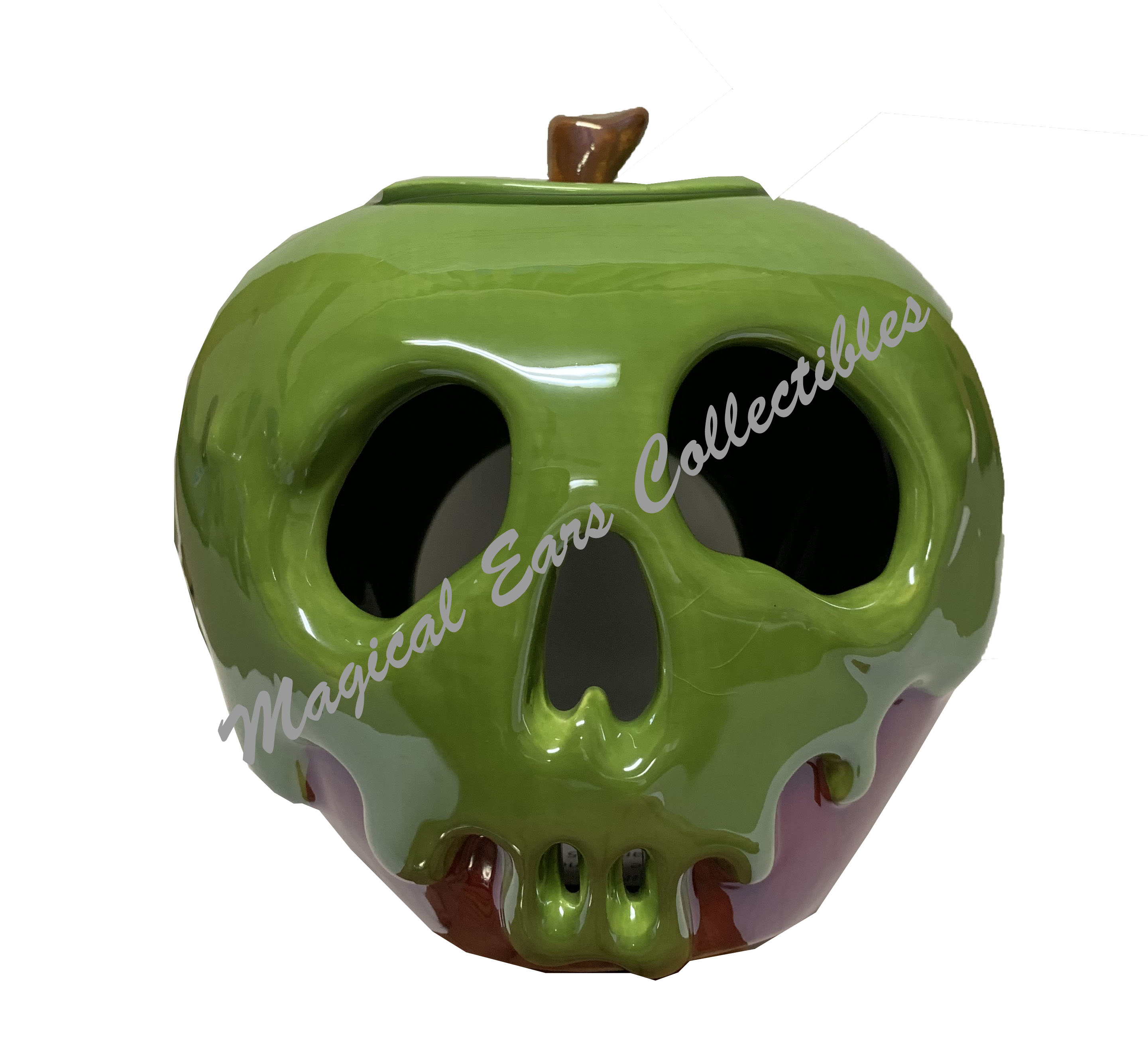 Disney Votive Candle Holder - Evil Queen Poison Apple - Just One Bite
