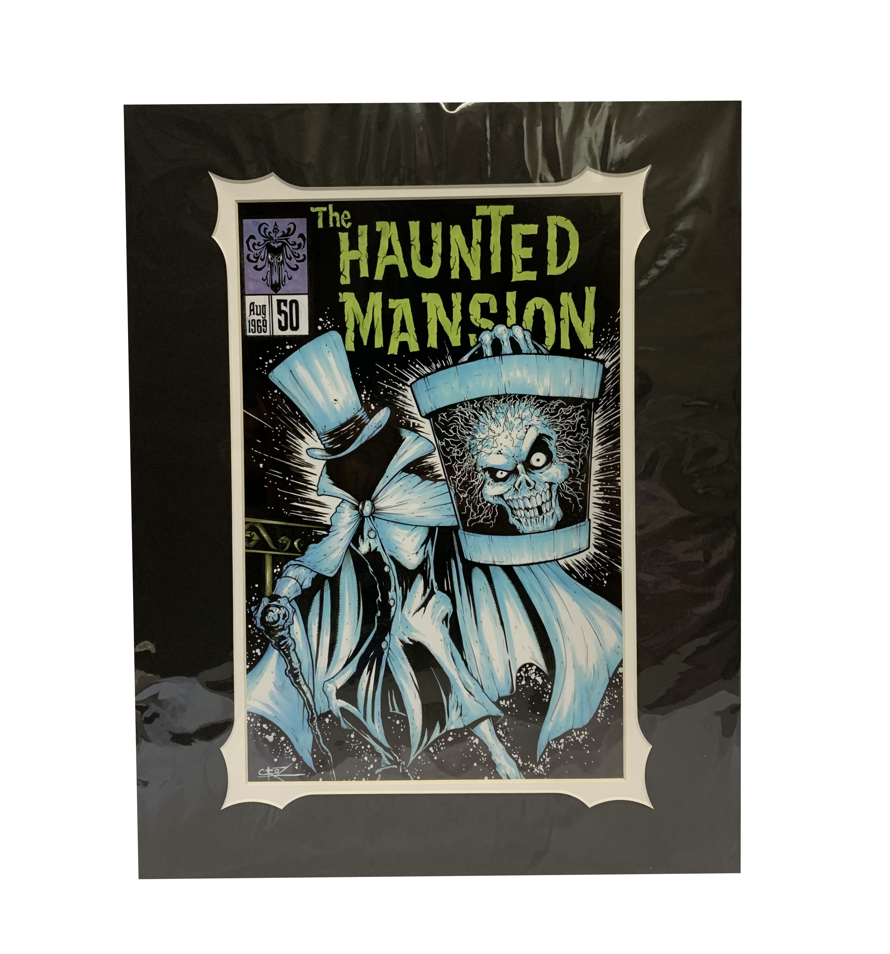 Disney Brian Crosby Art Print - The Haunted Mansion #50