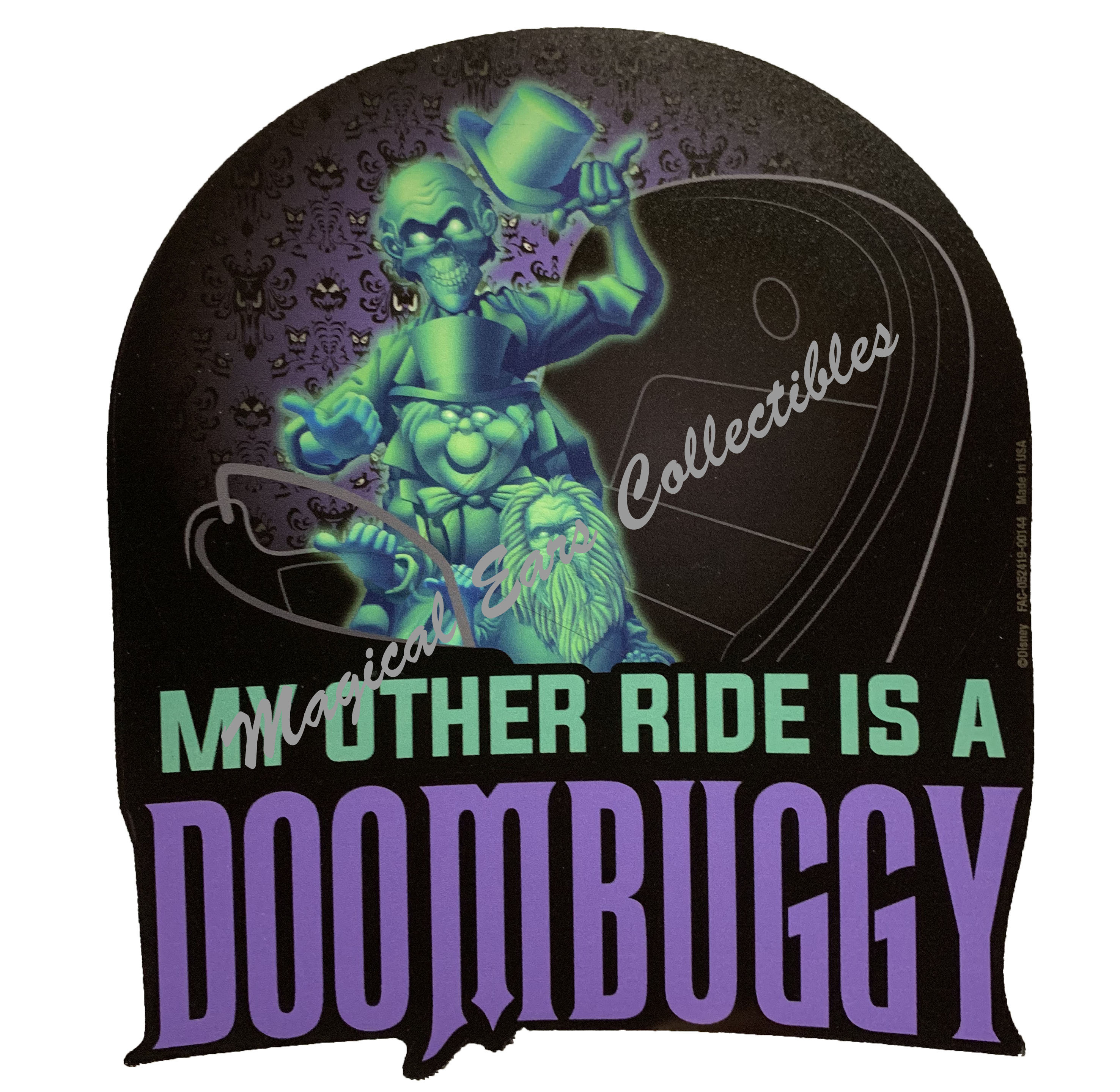 Disney Magnet - Haunted Mansion - My Other Ride is a Doombuggy - Large