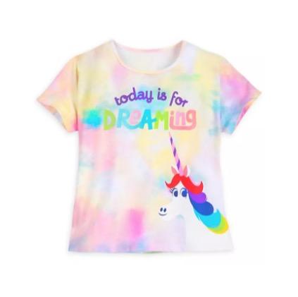 Disney Girls Rainbow Logo T-Shirt
