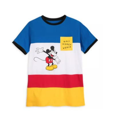 Disney Shirt for Men - Mickey Mouse Block Pocket - Walt Disney World