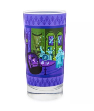 Disney Glass Tumbler - The Haunted Mansion - 31 Ghosts