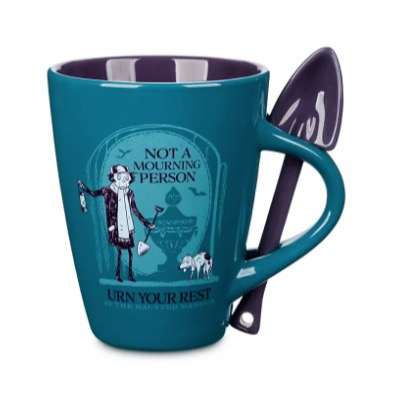 Disney Mug and Spoon Set - The Haunted Mansion Gravedigger