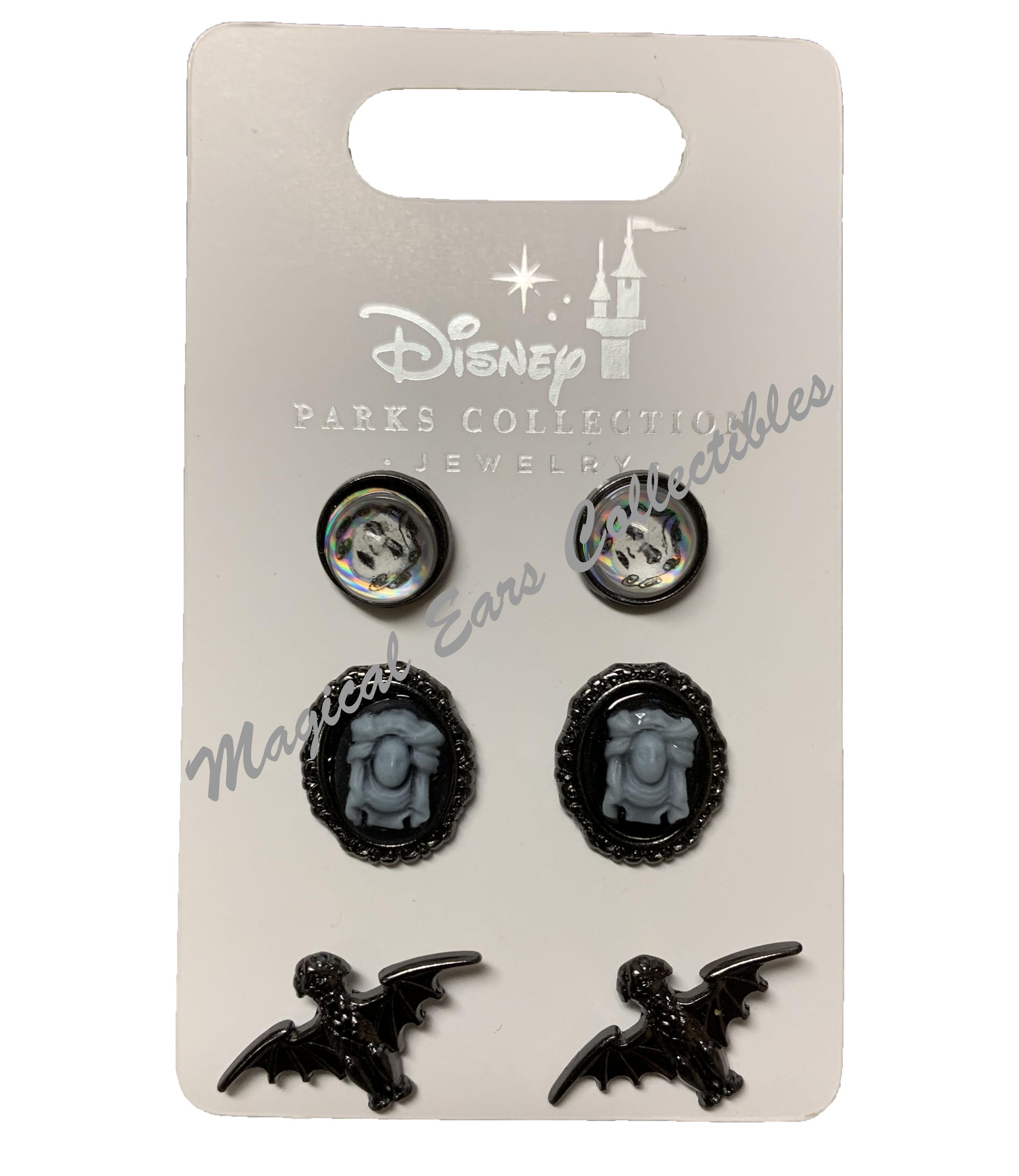 Haunted Mansion Butler Bottle Cap Earrings