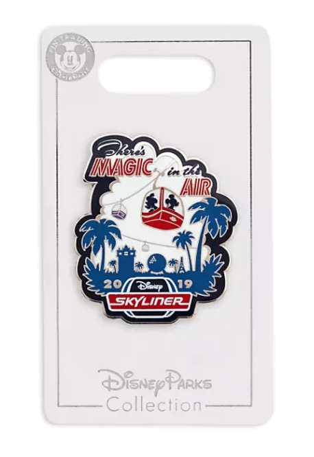 Disney Skyliner Pin - 2019 Mickey and Minnie Mouse