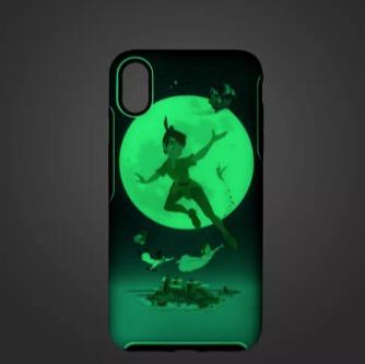 Disney Otterbox Iphone X Xs Case Peter Pan Glow In The Dark