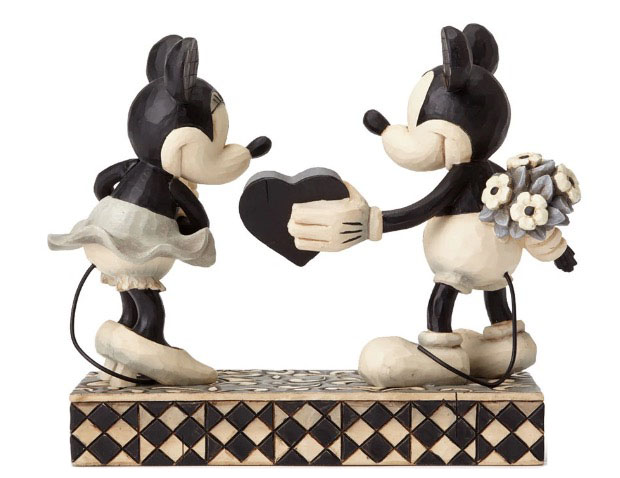 Disney Jim Shore Figure - Mickey & Minnie - Real Sweetheart