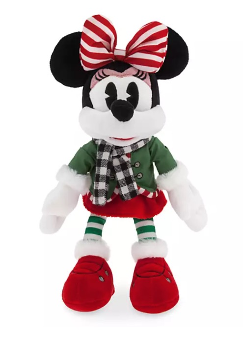 Disney Plush - 2019 Minnie Mouse Holiday - Medium