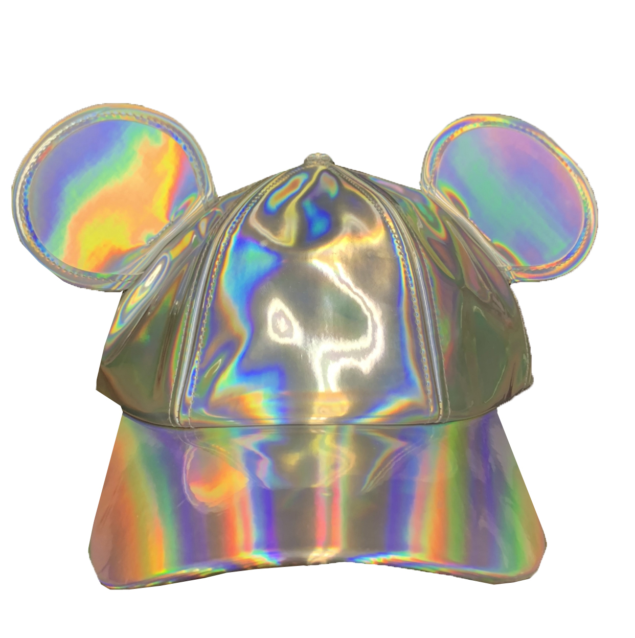 Disney Hat - Baseball Cap - Epcot - Mickey Mouse Metallic