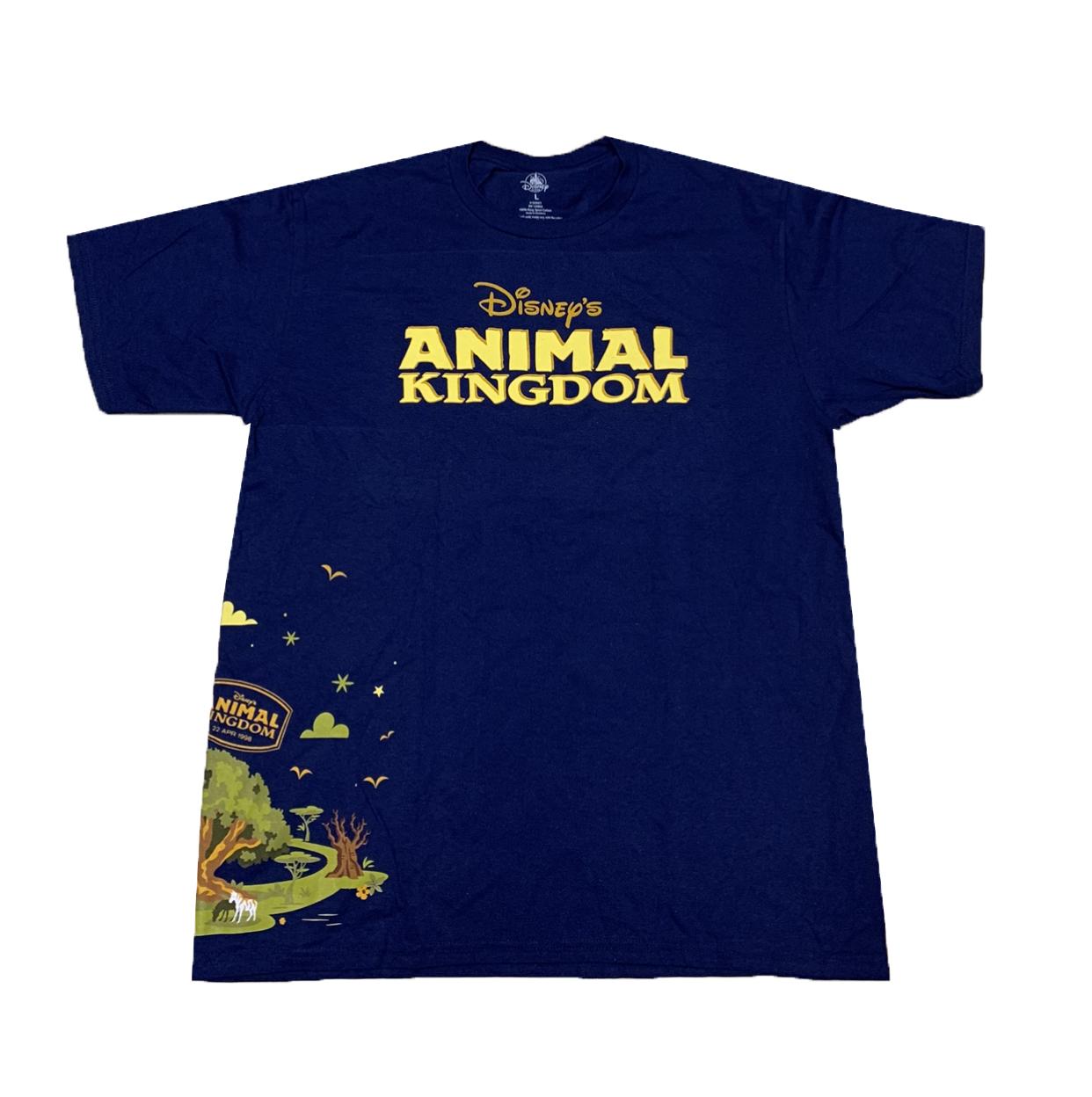 Animal Kingdom Christmas Shirt.Disney Shirt For Adults Animal Kingdom Passport Blue