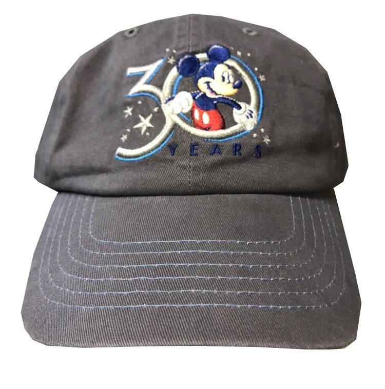 Disney Hat - Baseball Cap - Hollywood Studios 30th Anniversary