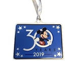 Disney Disc Ornament - 2019 Hollywood Studios 30th Anniversary