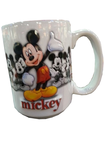 732acd6aa0e9c Disney Coffee Mug - Raised Character - Mickey Mouse