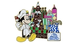 Disney's Contemporary Resort Pin - 2013 Holiday Gingerbread House