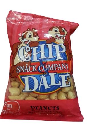 Disney Chip Dale Snack Co Peanuts 3oz Bag