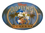 Disney Auto Magnet - Disney's Old Key West Resort - Mickey Mouse