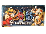 Disney License Plate - 2016 Mickey and Friends - Walt Disney World