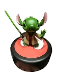 Disney Figure Statue - Star Wars - Jedi Master Yoda Stitch