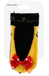 Disney Infant Socks - Minnie Mouse with Bow - 2 Pack