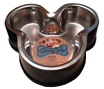 Disney Tails Dog Bowl - Mickey Mouse Icon - Stainless Steel