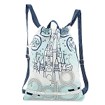 Disney Drawstring Bag - 2018 Castle - Walt Disney World
