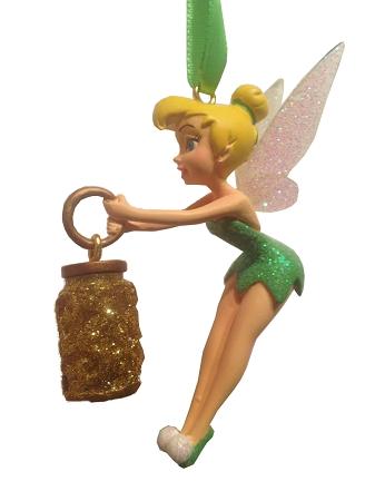 Christmas Tinkerbell.Disney Christmas Ornament Tinker Bell With Pixie Dust Bottle