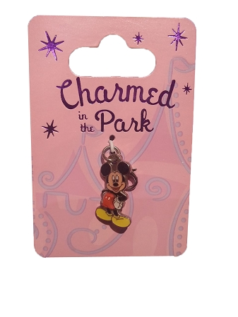 Disney Dangle Charm - Charmed in the Park - Mickey Mouse Profile
