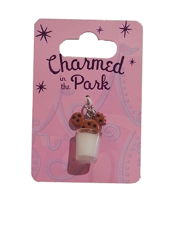 Disney Dangle Charm - Charmed in the Park - Cookie and Milk