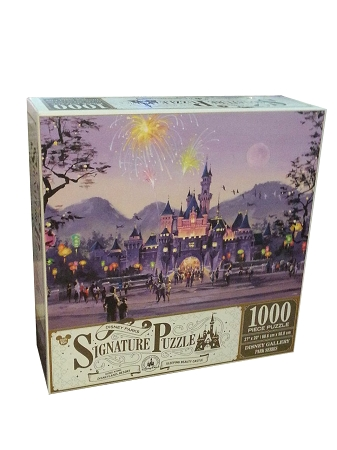 Disney Signature Puzzle Disneyland Sleeping Beauty Castle