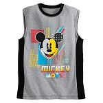 Disney Tank Shirt for Men - Mickey Mouse 80s Flashback