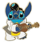 Disney Stitch Pin - Stitch as Elvis Presley