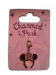 Disney Dangle Charm - Charmed in the Park - Minnie Mouse Ears Hat