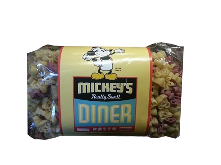 Disney Mickey's Really Swell Diner Pasta - Mickey Mouse Shapes