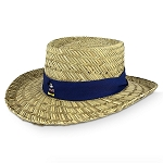 Disney Straw Hat for Men - Mickey Mouse - Blue Band