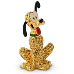 Disney Arribas Figurine - Pluto - Jeweled